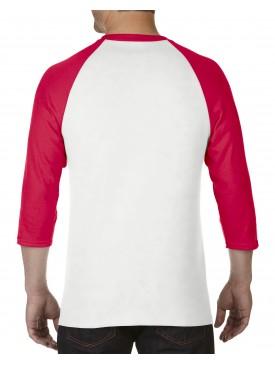 Polera Blanca 3/4 Raglan 5700 Gildan® Heavy Cotton™